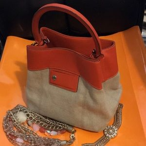 Refined Tumi bright, and beautiful bag!